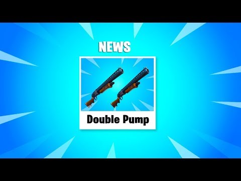 Epic Games said if I DID THIS, they would Add DOUBLE PUMP BACK in Fortnite.. *Not Clickbait*