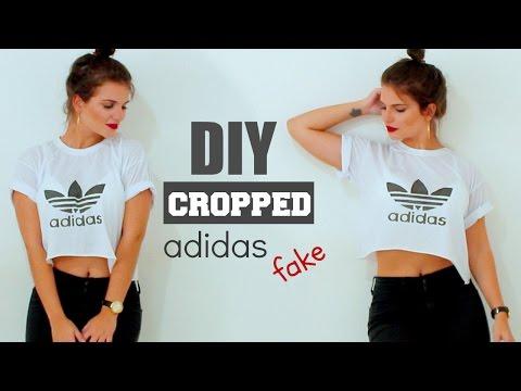 DIY: Camiseta ADIDAS fake! (Cropped)