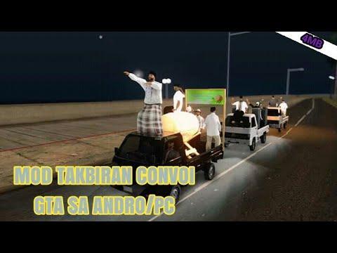 Mod Takbiran Convoi [GTASAANDRO/PC]