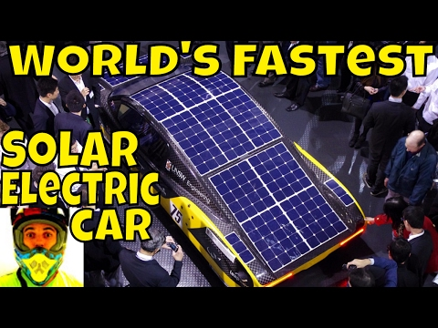 World's Fastest Solar Electric Car - Sunswift eVe - UNSW Solar Race Team - World Solar Challenge