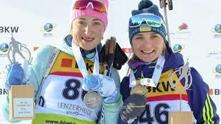 Сюжет из новостей спорта Харьковского телеканала ОТБ от 12.12.17 о биатлоне