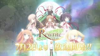 Rewrite anime CM. DISCLAIMER: All related content expressed in this...