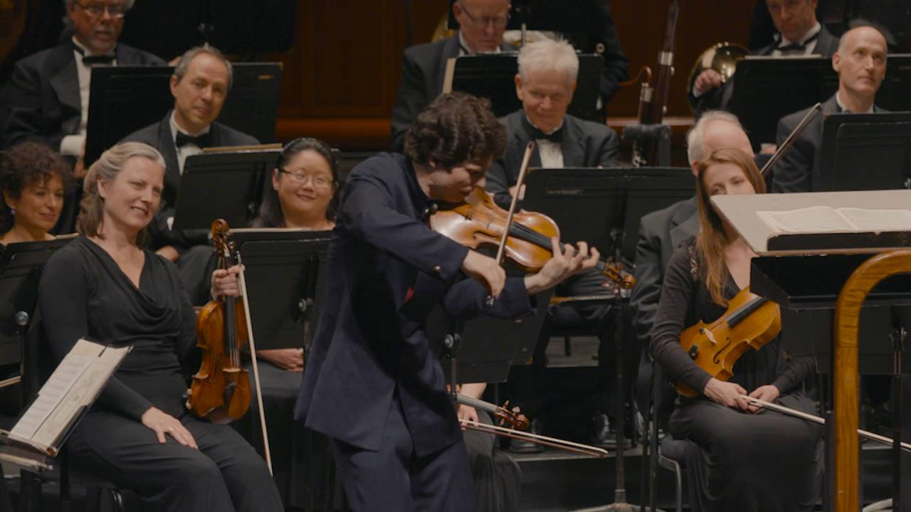Artwork representing Augustin Hadelich plays Paganini Caprice No. 5 LIVE