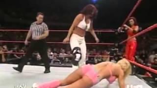 Candice Michelle  Victoria vs Torrie Wilson  Trish Stratus
