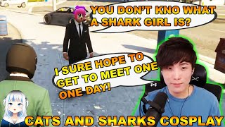 YUNO IS HOPING TO MEET A SHARK GIRL COSPLAY ONE DAY | YUNO MEET TESSA ONE OF THE NICEST PERSON!