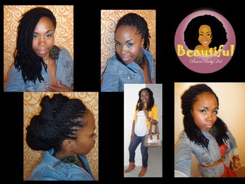 ★★4 Beautiful Styles For Yarn Braids, Genie Locs, Locs & Twists★★