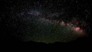 Milky Way Time Lapse Video