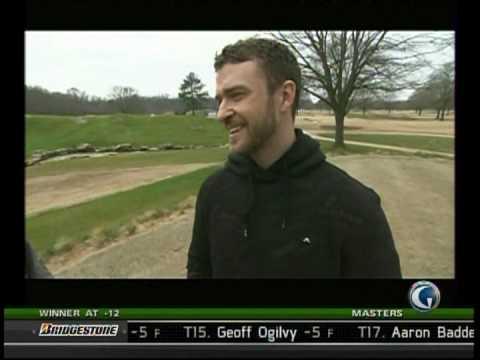 Golf In America - Justin Timberlake