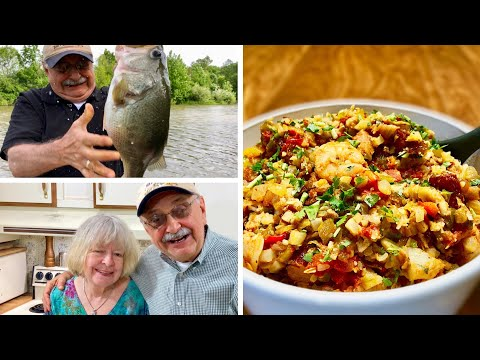 Fishing For A Jambalaya Dinner (a Low-carb Winner To Keep You Thinner)