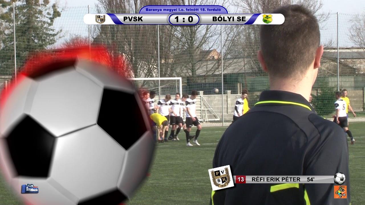 PVSK -  BÓLYI SE  4 - 0 (0 - 0)