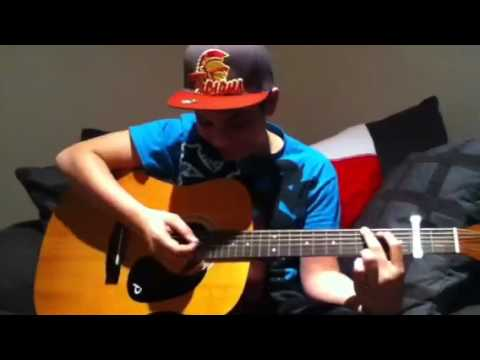 Learning mistletoe by Justin bieber on the guitar - YouTube
