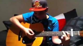 Learning mistletoe by Justin bieber on the guitar