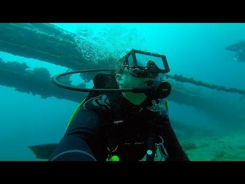Aruba - SCUBA Diving Antilla shipwreck. GoPro HD