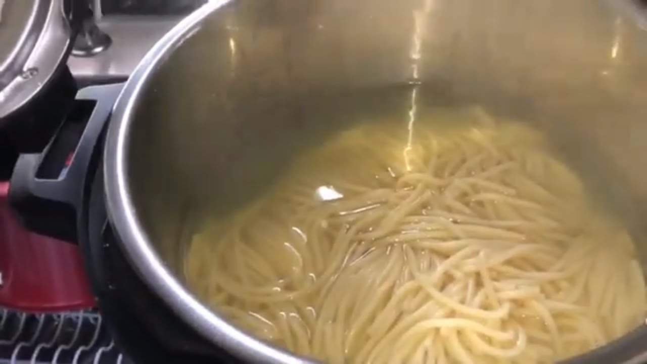 How to cook noodles in my instant pot