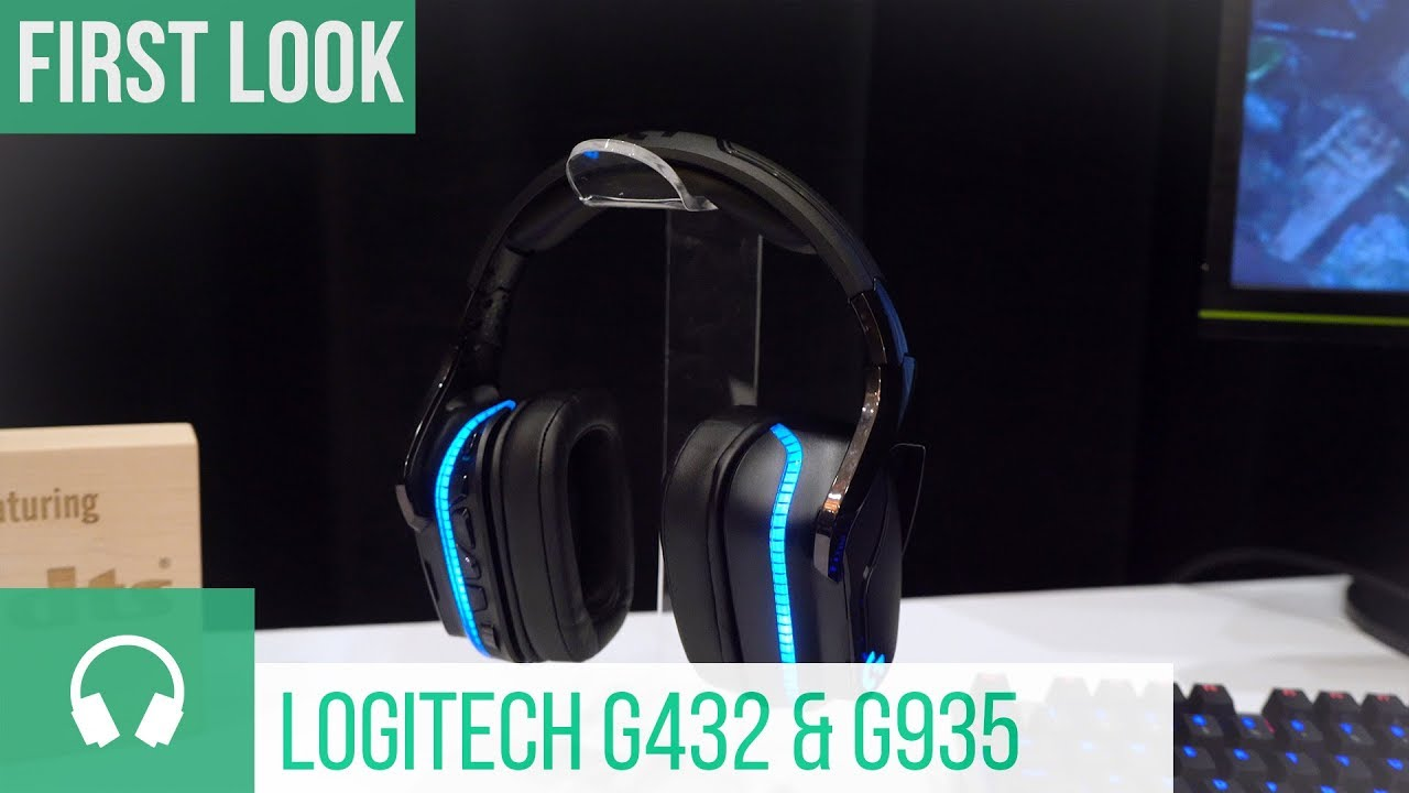 Logitech G432 & G935 Gaming-Headsets with DTS Headphone:X 2 0