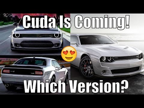 Dodge/Chrysler Cuda Hellcat *COMING* Could Be Twin Turbo!