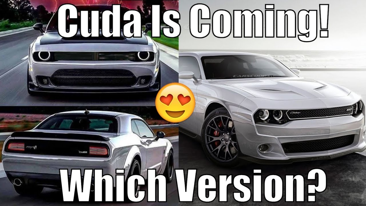 Dodge/Chrysler Cuda Hellcat *COMING* Could Be Twin Turbo