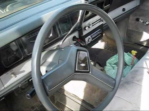 1985 Chevrolet Caprice Classic Walk Around (Part 2) - YouTube