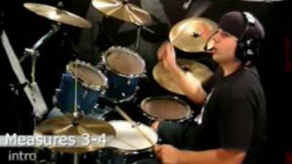 Drum Lesson - Communication Breakdown - Led Zepplin - Song Intro