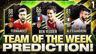 FIFA 21 TEAM OF THE WEEK #1 PREDICTIONS! FIFA 21 Ultimate Team