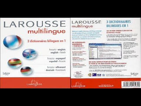 installation Larousse Multilingue