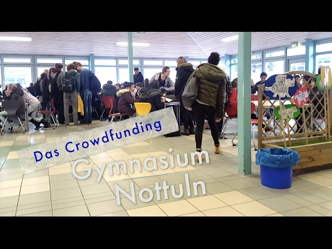 Aula Crowdfunding Gymnasium Nottuln