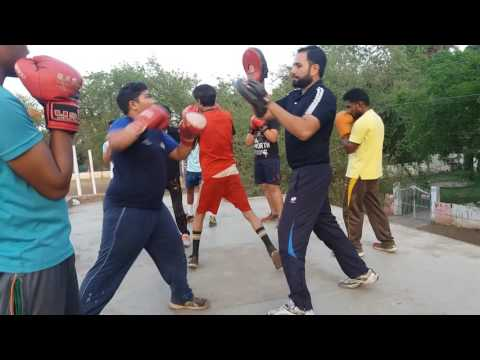 Boxing railway sports club Bhopal.