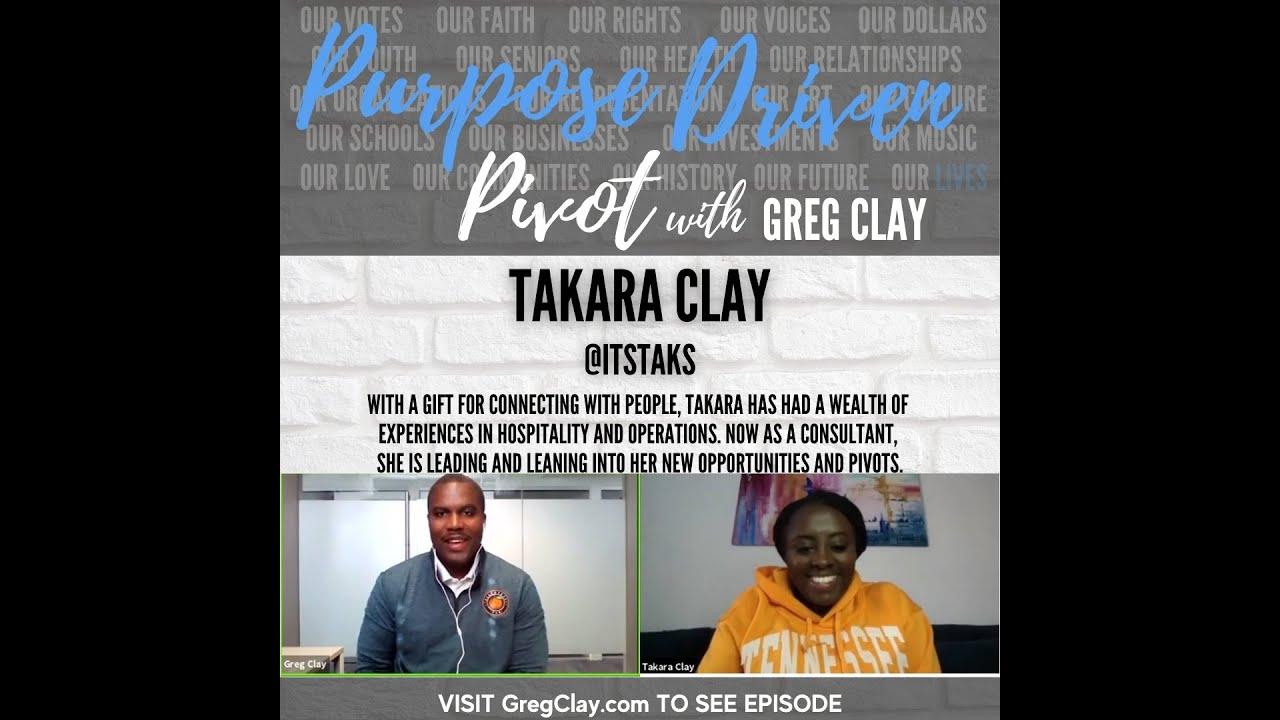 Purpose Driven Pivot , feat. Takara Clay