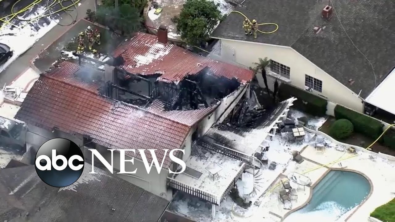 5 dead after plane crashes into home