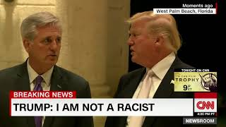"""I am not a racist"" -Trump"