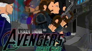 """""""Мстители: Секретные Войны"""" полный мультфильм Crazy Dark ™ 2019"""