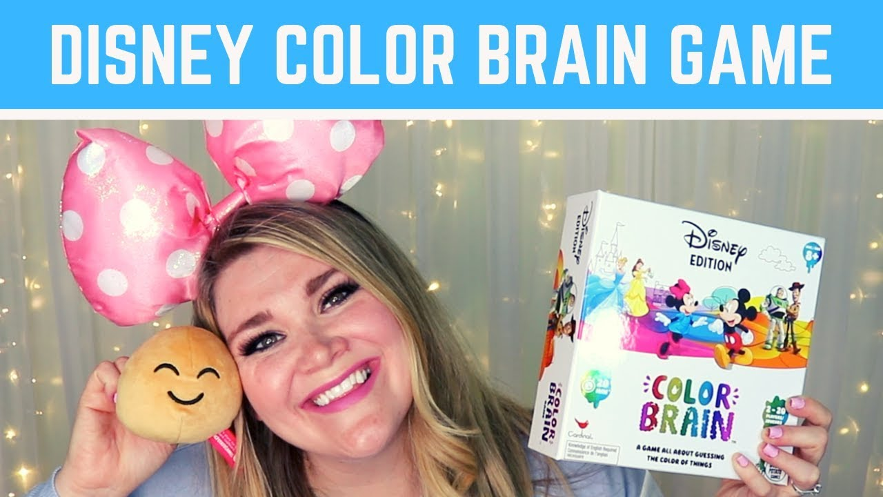 🌈🥔🎲 Disney Color Brain Game🌈🥔🎲 – Unboxing & Review