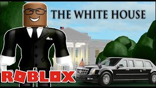 VISITING THE WHITE HOUSE IN ROBLOX (Looking For Donald Trump)