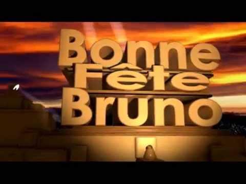 Bonne Fête Bruno Youtube