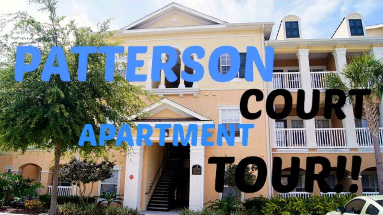 Apartment Tour Dcp Edition Patterson Court Apartments