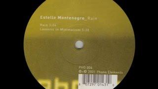 Estelle Montenegro - Lessons In Minimalism