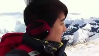 bigbang的G-Dragon,太阳,TOP,胜利在新西兰(NewZL)new video