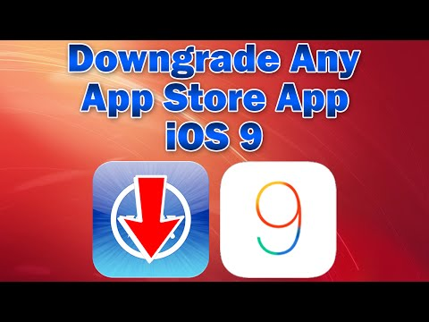 iOS 9: How to Downgrade any App Store App (Without Computer