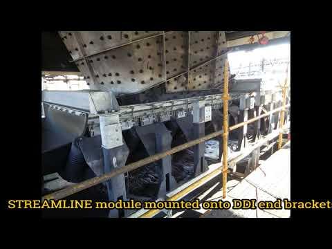 Installation of STREAMLINE Conveyor Transfer Module on site