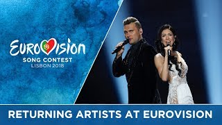 Returning artists at Eurovision A recipe for success