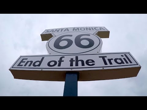 Ep 100 | Las Vegas to Santa Monica, California, End of Route 66, California, RV Nutshell