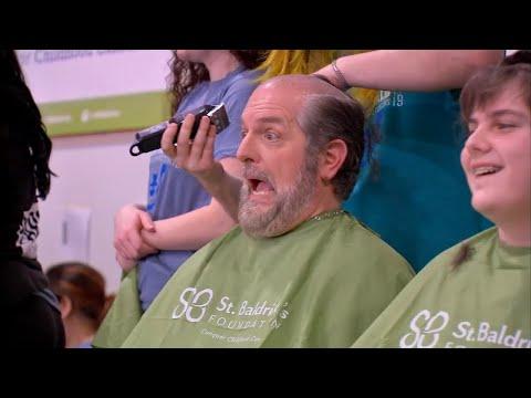Mick Lee - Chicagoland Schools Hold St. Baldrick's Shaving Fundraiser for Cancer