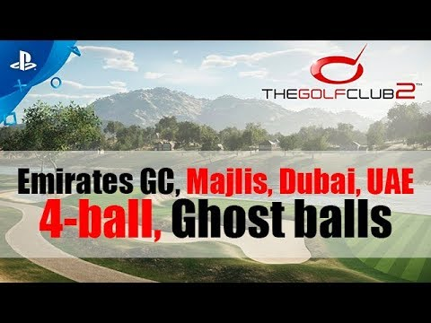 The Golf Club 2 - Emirates GC - Majlis, Dubai, UAE - 4-(ghost)ball