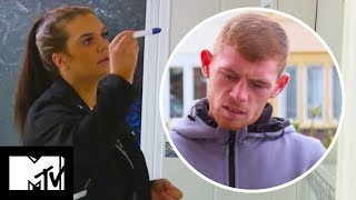 Amber Takes A Pregnancy Test After Ste Drama | Teen Mom UK 306