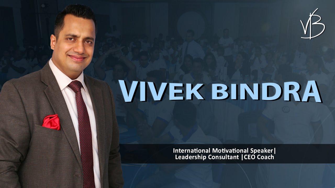 Mr.Vivek Bindra: International Motivational Speaker | Leadership Consultant | CEO Coach