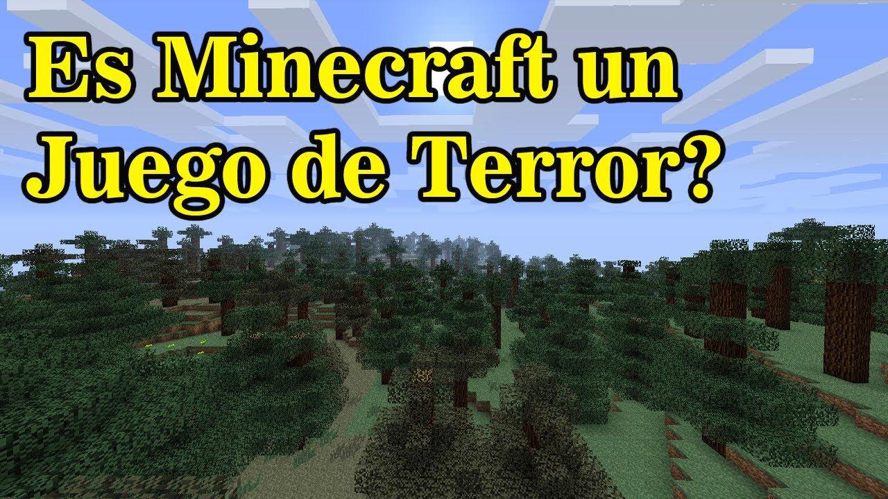 Es Minecraft un Juego de Terror  YouTube