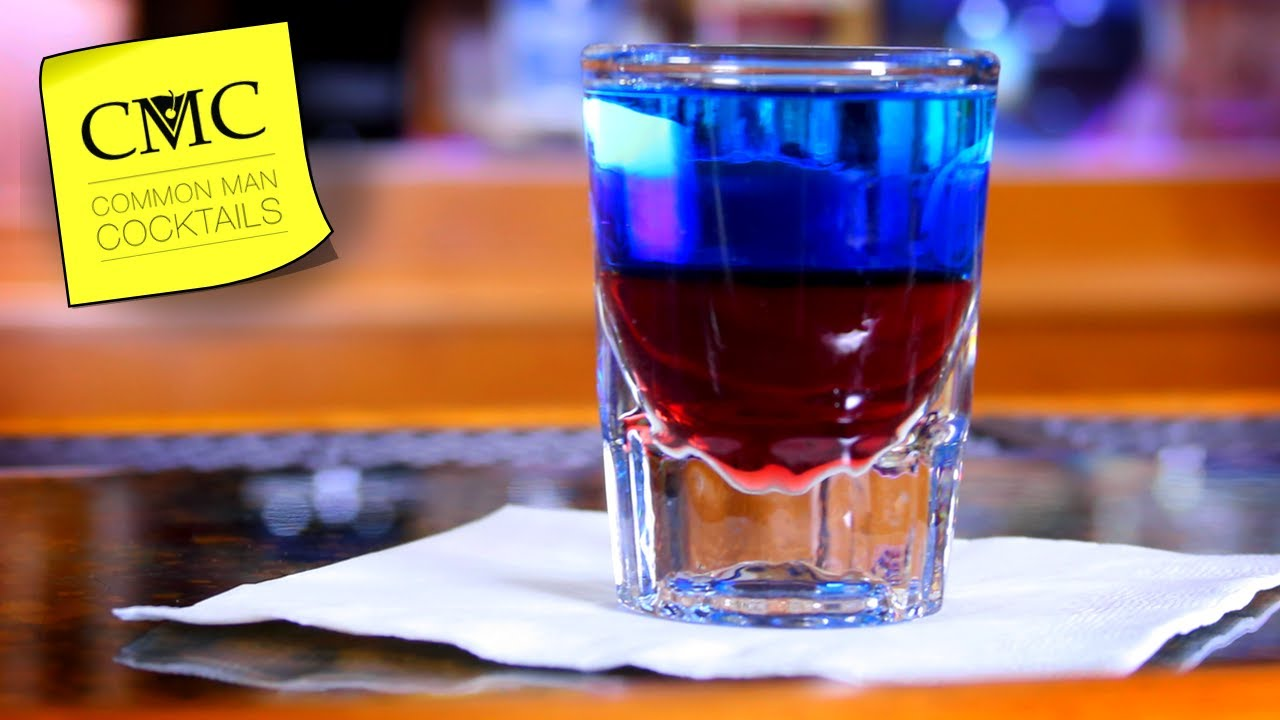 how to make blue cocktails