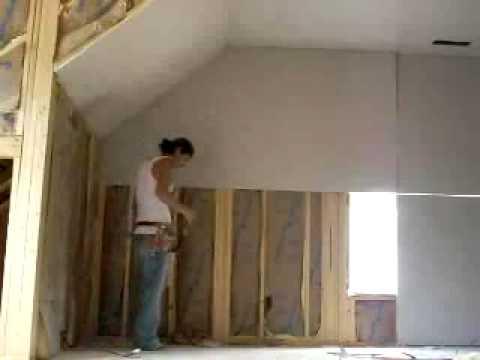 Drywall Hanger - YouTube