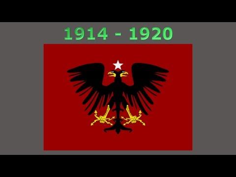 History Of The Albanian Flag YouTube - Albanian flag