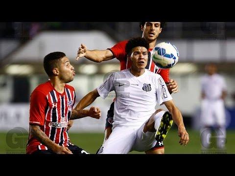 Santos 3 x 0 São Paulo | MELHORES MOMENTOS | Brasileirão (09/09/15)